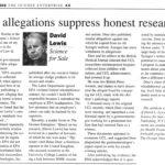 12-08-16-false-allegations-suppress-honest-research