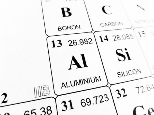 aluminium on the periodic table of the elements - Periodic Table Aluminum