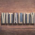vitality letters wood